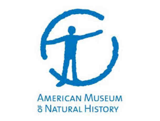 4 Vouchers for General Admission to AMNH