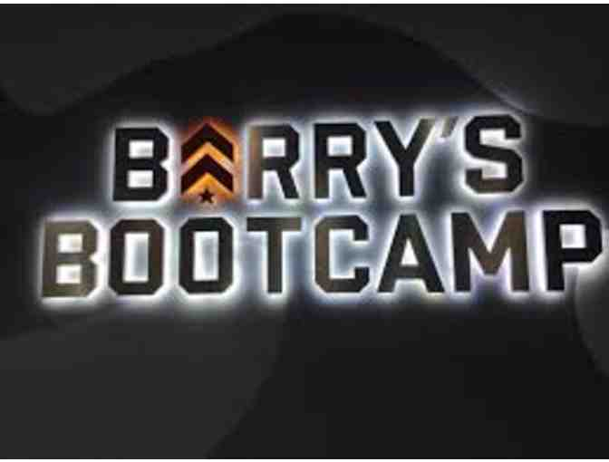 3-Class Package to Barry's Bootcamp