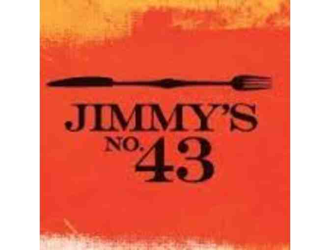 $100 Gift Certificate for Jimmy's No 43