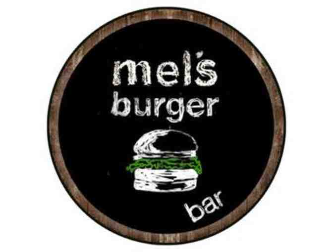 $100 Gift Certificate To Mel's Burger Bar