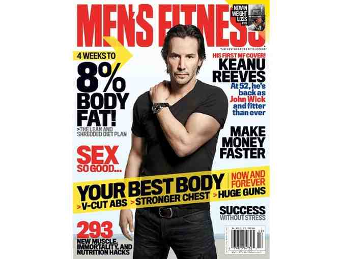 Men's Fitness Magazine 1-Year Subscription