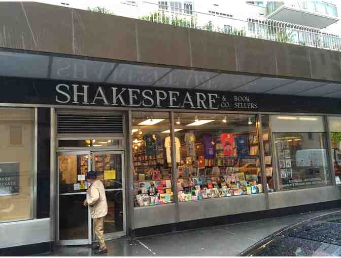 $25 Gift Certificate to Shakespeare & Co.