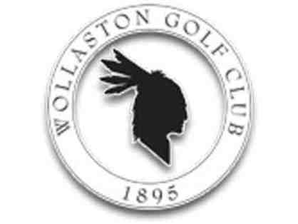Wollaston Golf Club - 4-some of golf, Includes Carts