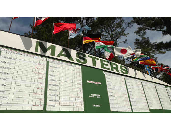 VIP Sunday Masters Experience for 2!!
