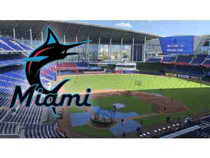 Miami Marlins VIP Experience; Tickets, Pre-game Tour on Field, Meet & Greet, and MORE