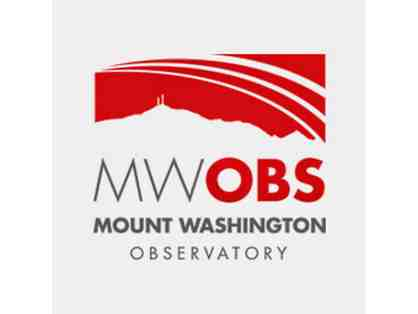 MOUNT WASHINGTON OBSERVATORY  & SEEK THE PEAK HIKE-A-THON PRIZE PACKAGE