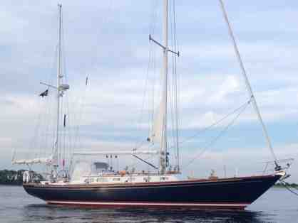 Sail for the Day Aboard a Hinckley Sou'wester 51 Yawl with Lunch for up to 8 People