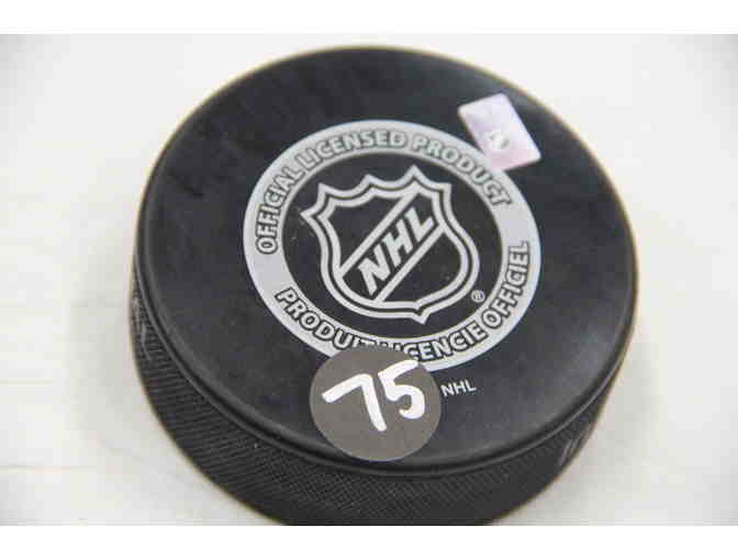 Connor Clifton Signed Puck