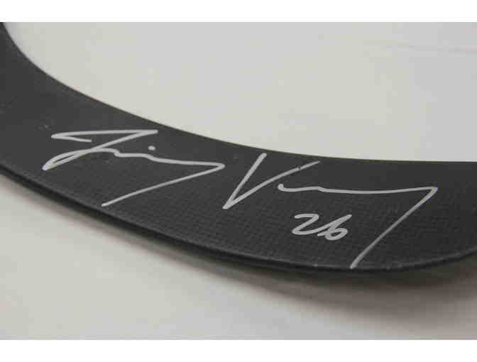 Jimmy Vesey Signed Hockey Stick