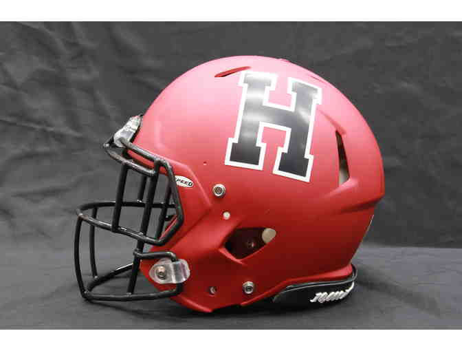 Harvard Football Helmet