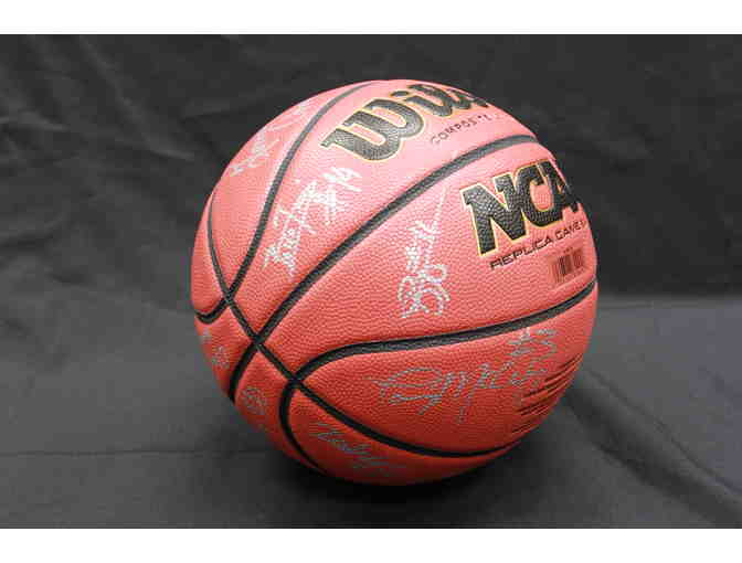 2018-19 Ivy League Champion Signed Basketball