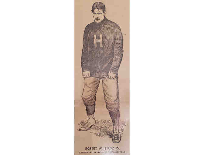 125 Year old Morning Advertiser Newspaper | 1894 Harvard/Yale Football Game