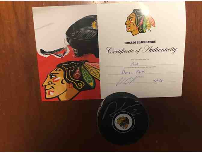 Duncan Keith Signed Puck