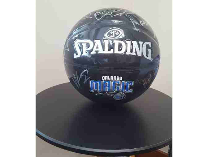Autographed Orlando Magic Basketball