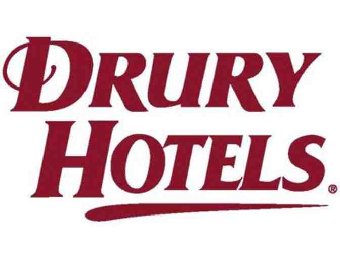 Complimentary Hotel Night at Any Drury Hotel