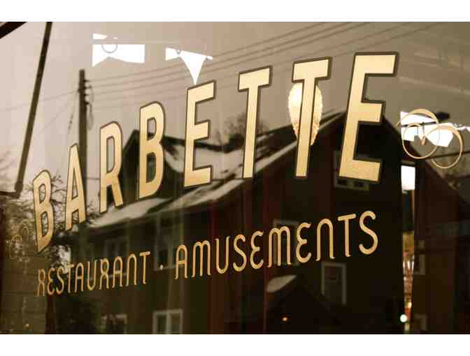 Gift Certificate to Barbette, Minneapolis, MN