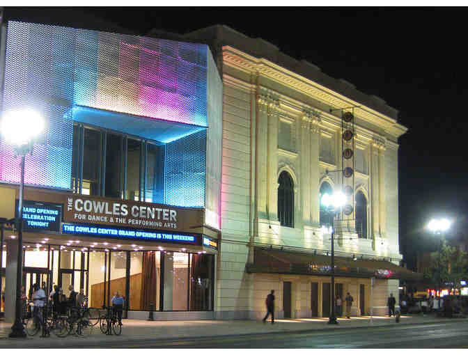 Two Tickets to the Cowles Center for Dance and the Performing Arts