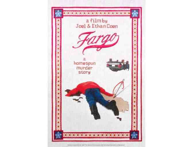 Fargo Poster Signed by the Coen Brothers