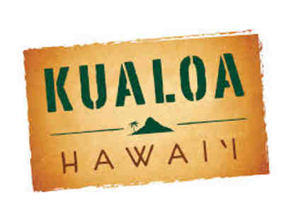 Gift Certificate for two (2) people, for any one Kualoa Experience Tour