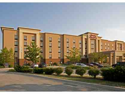 1 Night Stay at Hampton Inn & Suites Bloomington-Normal in a King Studio Suite