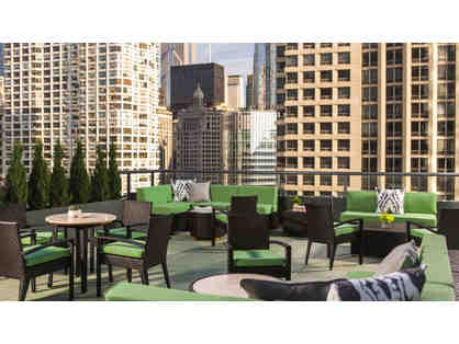 1 Night Stay in a Deluxe Room at Hotel Palomar Chicago