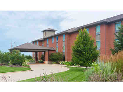 1 night stay in a King Whirlpool Suite at the Parke Regency Hotel and Conference Center