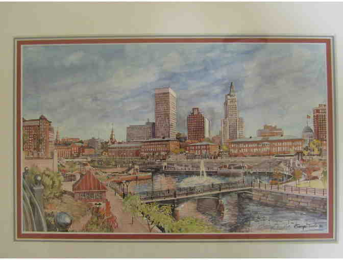 Waterplace Park Framed Print