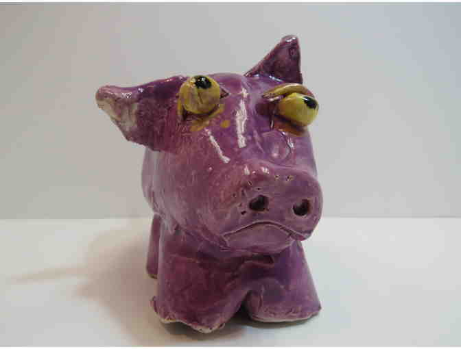 Purple Passion Piggy Bank