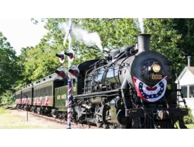Essex Steam Train and Riverboat Tour for Four