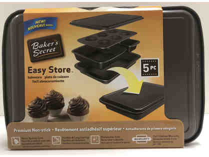 Baker's Secret Easy Store Baking Pans