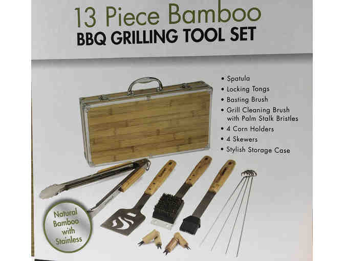 Cuisinart 13 Piece BBQ Grilling Tool Set - Photo 2