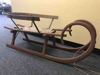 Antique Wooden Sleigh