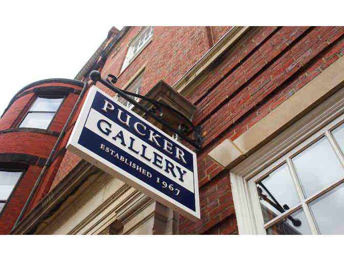Enjoy Fine Art with a Gift Certificate to the Pucker Gallery