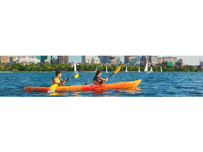 Explore the Charles with a Kayak Adventure