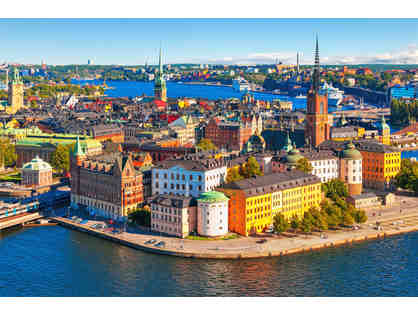 Dine and Tour Stockholm with Environmentalist Gustaf Sverker Nilius Littorin