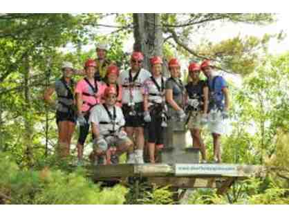 Explore the Outdoors with a day Zip Lining and Rafting