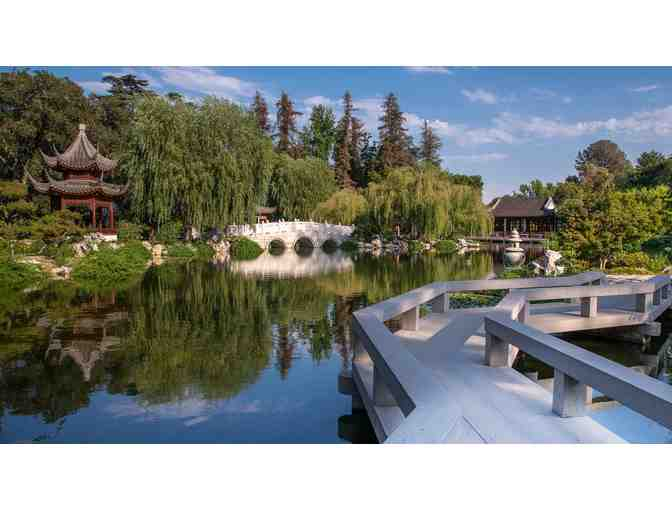Four Tickets to The Huntington Library, Art Museum, and Botanical Gardens
