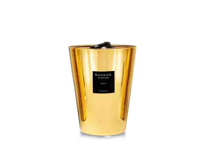 Baobab Luxury Scented Aurum Candle and Vessel - Photo 1