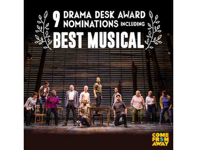 "Tickets to Broadway's ""COME FROM AWAY"" - Photo 2"