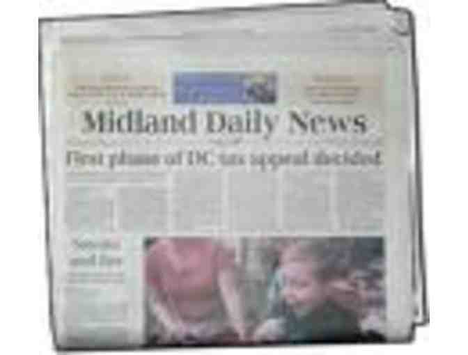 Midland Daily News Subscription