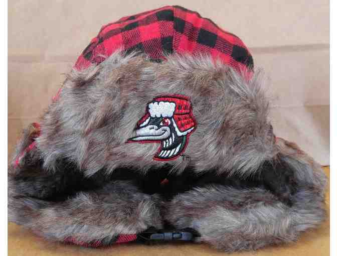 Great Lakes Loons Fleece Blanket and Cold-Weather Hat
