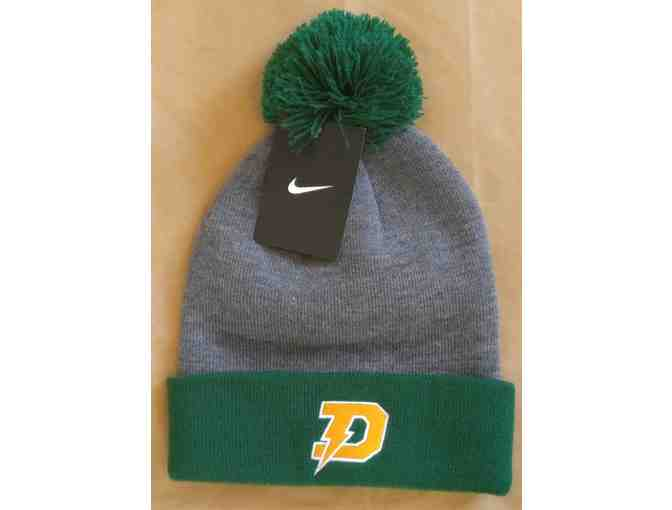 Dow Chargers Pennant  and Nike Knit Hat