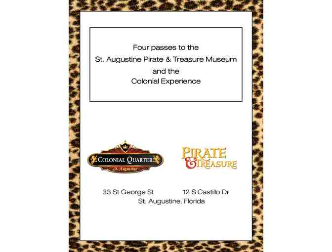 St. Augustine Pirate and Treasure Museum - 4 Museum and 4 Colonial Experience Tickets - Photo 2