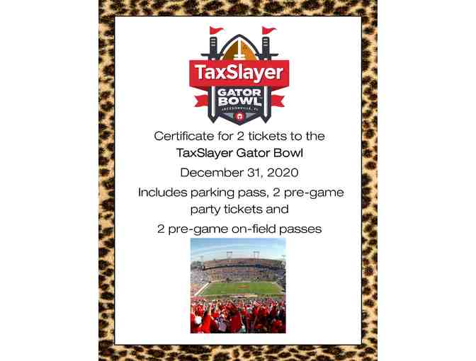 2020 TaxSlayer Gator Bowl Ticket Package for Two - Photo 2