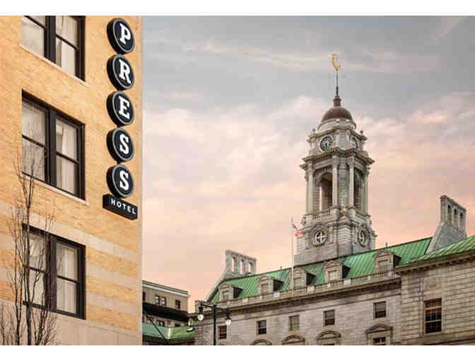 Discover a Bit of Journalistic History at the Press Hotel, Portland, ME