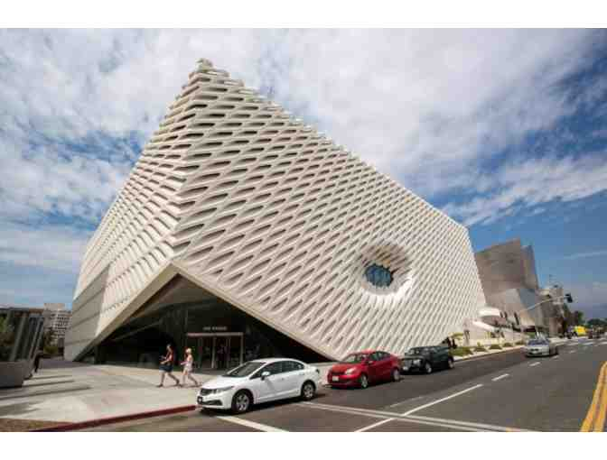 The Broad: Four (4) VIP Guest Passes