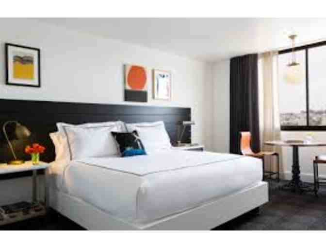 The Kimpton Buchanan Hotel: 1 Night Stay
