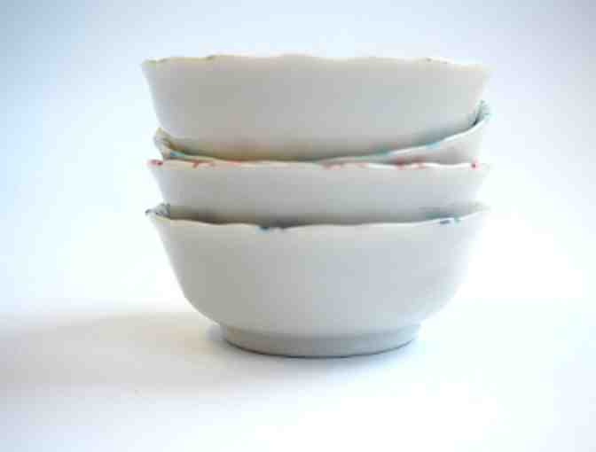 Kotobuki Set of 4 Dragonfly Bowls