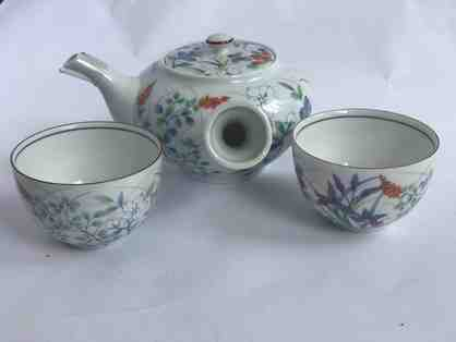 6-Piece Mitsuokoshi Japanese Teapot and Teacup Set