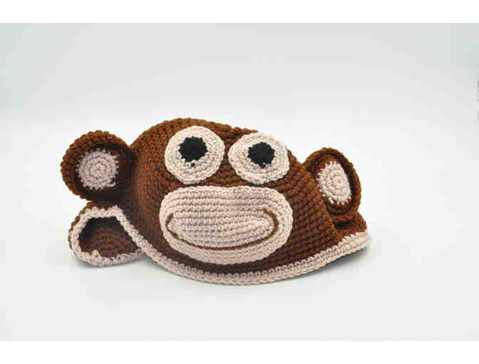 Custom Character Beanie from Weber Works: Monkey - Photo 1